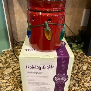 Scentsy Accents - Holiday Lights Scentsy Warmer